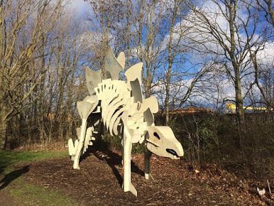 Teessaurus Park, un parque con esculturas dinosaurianas en Middlesbrough
