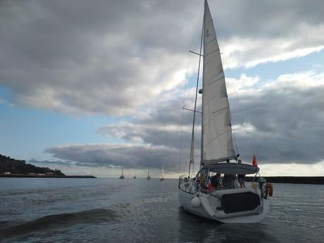 V Travesía Navega el Camino: Los peregrinos por mar se ponen en marcha en Hondarribia