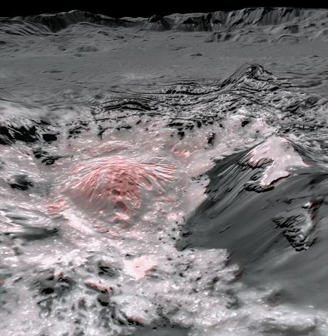Ceres posee un océano interior y actividad geológica reciente