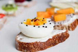 Tostada con huevos