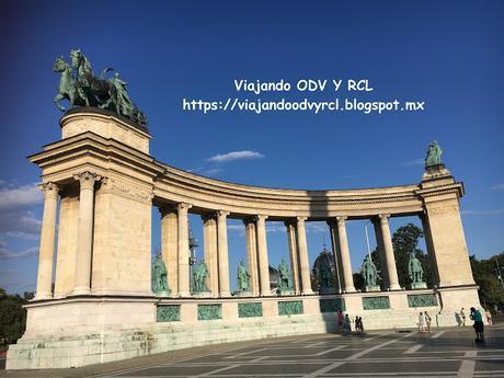 Que hacer, a donde ir, que visitar en Budapest. Plaza de lo Héroes