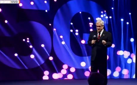 Presidente Piñera anuncia licitación de la red 5G en Chile