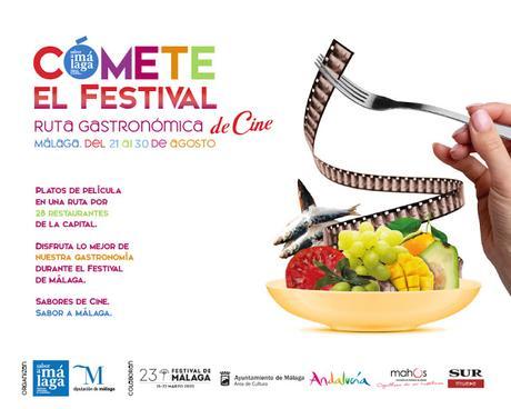 Sabor a Málaga celebrará su ruta gastronómica con motivo del Festival de Cine
