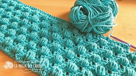 Punto Garbanzo a Crochet