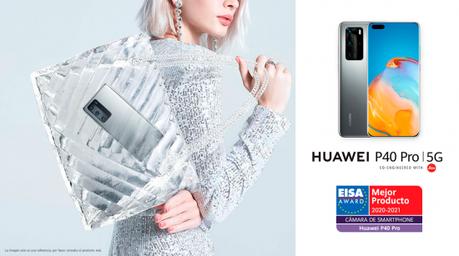 Huawei P40 Pro y Huawei Watch GT 2 ganan dos premios EISA