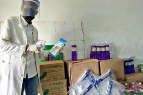 Se inician las PCR a COVID19 en el Hospital de Gambo de Etiopía