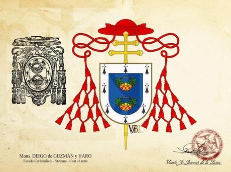 Diego de Guzmán y Haro, abad de Santander y cardenal