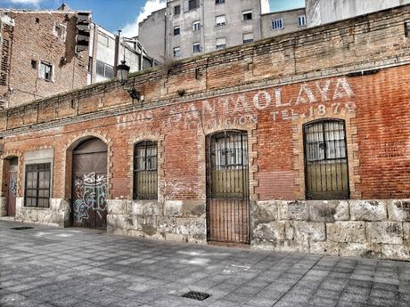 El desaparecido almacén de frutas Hermanos Santaolaya