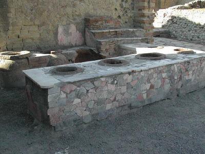 COMER FUERA EN LA ANTIGUA ROMA: TIPOS DE ESTABLECIMIENTOS