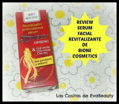Cosmetica natural Bione Cosmetics en Notino Serum facial revitalizante