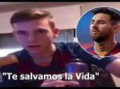 Hincha Argentino hace viral imitando español enojado Messi tras salida Barcelona