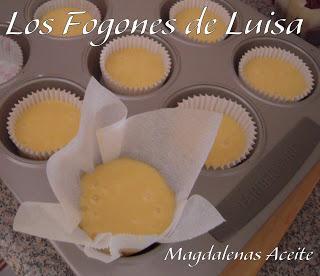 MAGDALENAS DE ACEITE