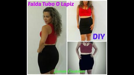 Falda Tubo Juvenil Outfit Falda Larga Animal Print