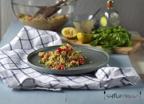 receta ensalada fácil de quinoa