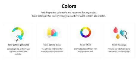 Paletas de color en Canva