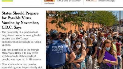 Vuelta al colegio con la pandemia al acecho: confusión, miedo e incertidumbre.