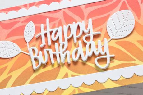 My Favorite Stencil Techniques + Slimline Birthday Cards