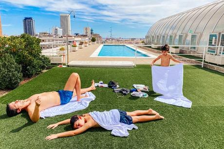 Apartamentos de Pierre et Vacances en Madrid con piscina en las alturas