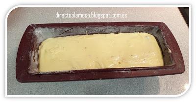 Bizcocho de queso y arándanos