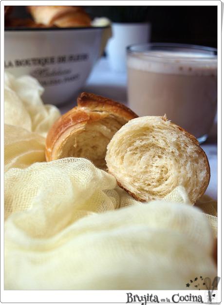 Croissant brioche con  mascarpone
