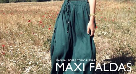 Como Combinar Maxi Falda Negra