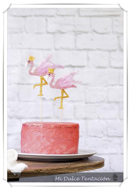 Tarta de Cumpleaños - Bizcocho de Nata Agria con Crema de Trufa