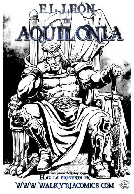 El León de Aquilonia a la venta el 12 de Septiembre