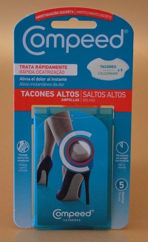 COMPEED – una solución perfecta para cuidar los pies