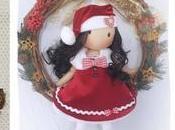 Curso muñeca navideña moldes gratis