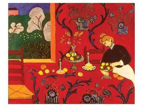 Recopilatorio CocinArte- La habitación roja (Matisse)