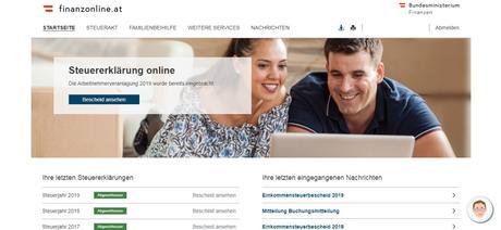 La declaración de la renta en Austria: nueva apariencia de la web