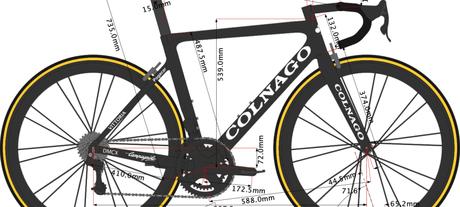 Colnago V3RS la bicicleta de Tadej Pogačar 🏆