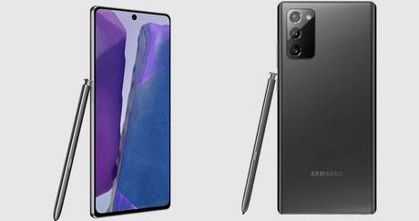 El Samsung Galaxy Note 20 puede ser tuyo ahora por 120 euros menos