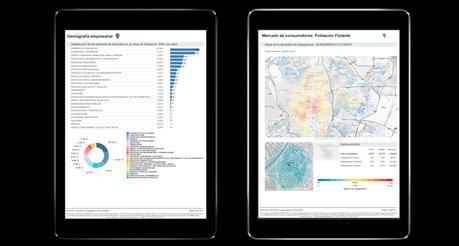 Aplicación práctica del Geomarketing al sector financiero según inAtlas