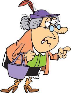 Tener abuela...