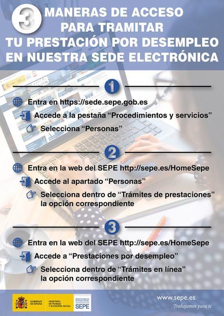 Nuevas formas del SEPE para solicitar o consultar tu prestación por desempleo y otros tramites
