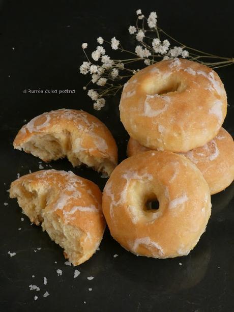 Donuts con agujero al horno