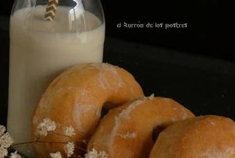Donuts agujero horno