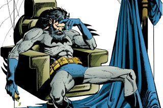 A Batman lo gobierna la angustia