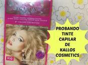 Probando Tinte Capilar marca KALLOS COSMETICS