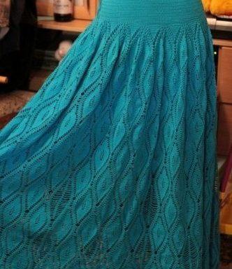 Faldas En Crochet Para Dama