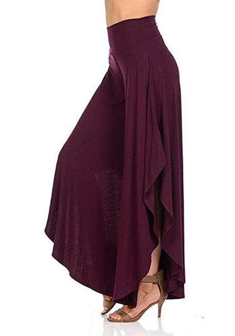 Falda Pantalon Largo Para Fiesta