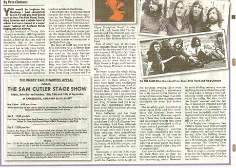 Efemérides del Rock y Heavy Metal: Que pasó un 13 de Septiembre