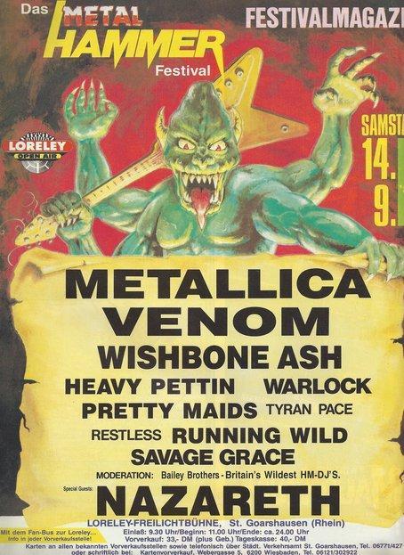 Efemérides del Rock y Heavy Metal: Que pasó un 14 de Septiembre