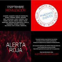Manifiestos medidas urgentes sector cultural por Alerta Roja