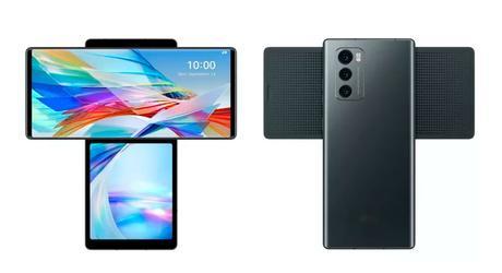 LG Wing: un móvil con doble pantalla giratoria que cambia las reglas