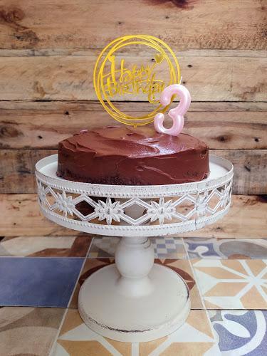 Tarta de cumpleaños de chocolate - Sin leche, sin huevo y sin soja
