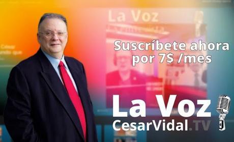 Nace La Voz de César Vidal TV