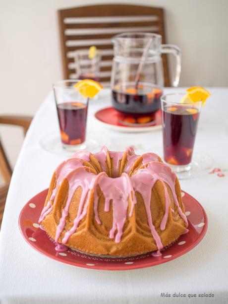 Sangria bundt cake