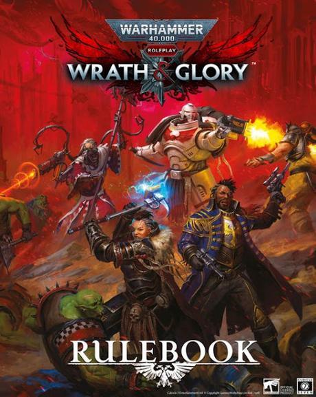 Dos bloques de correcciones para  Wrath & Glory, de Cubicle 7